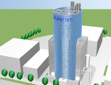 Blue Tower Herten
