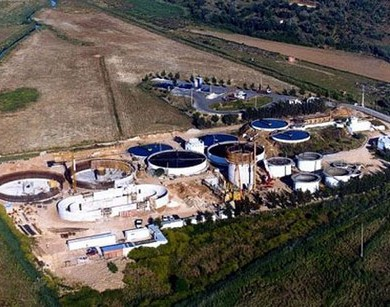 Sewage Treatment Plant Lagos, Portugal