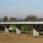Slender Pre-Stressed Concrete Viaduct