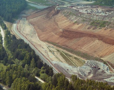 Shut-down and securing of the Böblingen landfill site