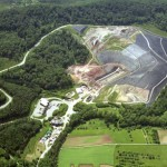Construction and expansion of landfill, Burghof