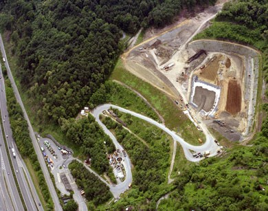 Remediation and expansion of landfill Einöd